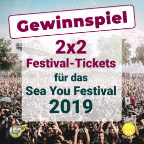 """*Gewinnspiel beendet*: Tickets für das Sea You Festival """"Beach Republic"""""""