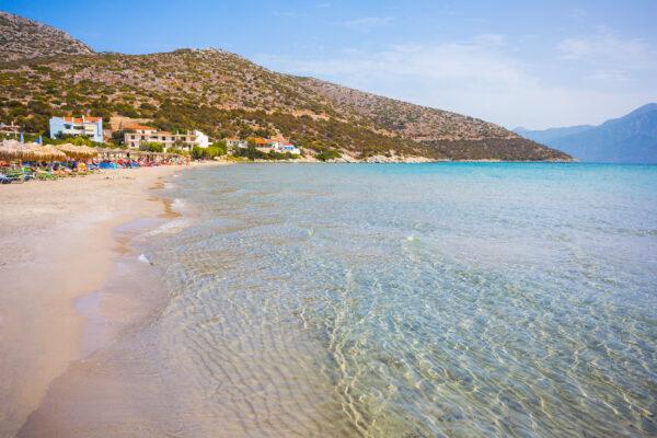 Griechenland Samos Psili Ammos Strand