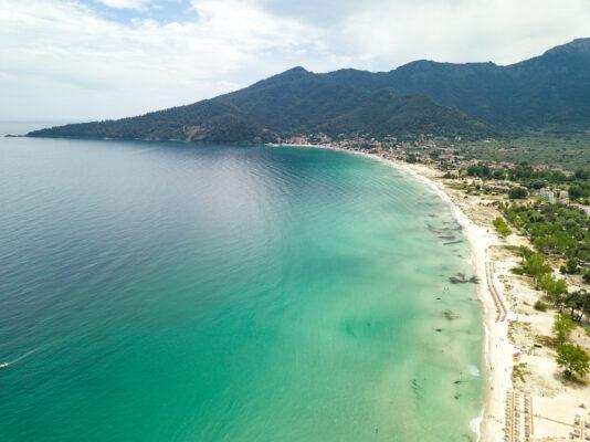 Griechenland Thassos Golden Beach