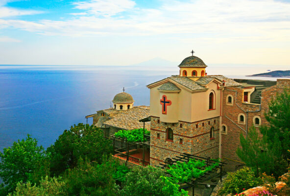 Griechenland Thassos Kloster Erzengel Michael