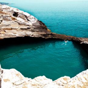 Griechenland Thassos Naturpool