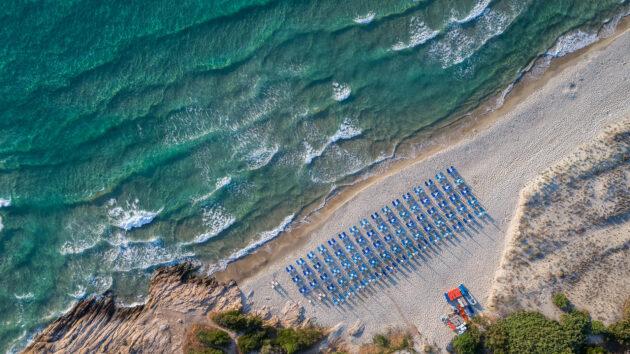Griechenland Thassos Paradise Beach