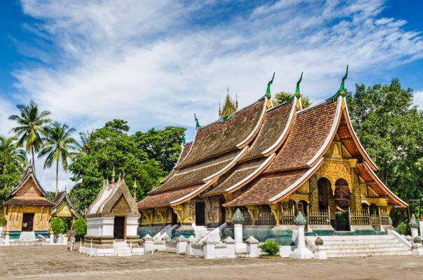 Laos Luang Prabang Wat Xieng Thong Temple