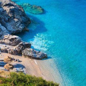 Albanien Kracher: 8 Tage Ksamil im TOP 4* Ferienhaus & Flug nur 77€