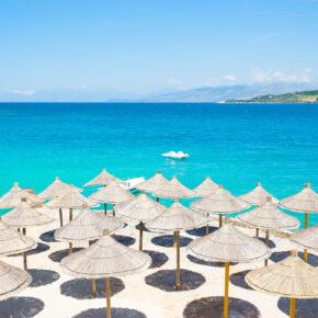Urlaub in Albanien: 8 Tage Ksamil im TOP 4* Hotel mit Flug nur 83€