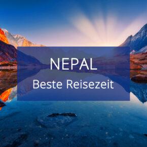 Beste Reisezeit für Nepal: Klimatabellen, Temperaturen, Sonnenstunden & Regentage