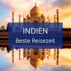 Beste Reisezeit Indien