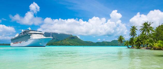 Bora Bora Kreuzfahrtschiff