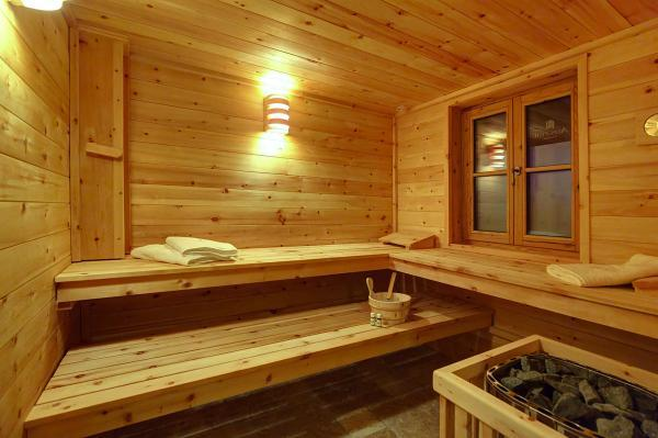 Chaletdorf Auszeit Sauna