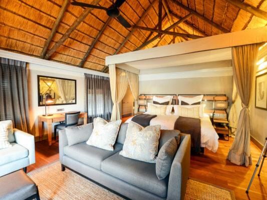 Chobe Water Villas Zimmer