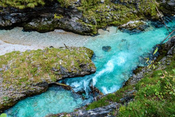 Deutschland Alpen Leutaschklamm River