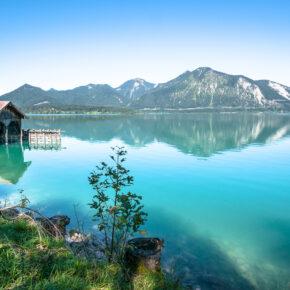 Bayern Kurztrip: 2 Tage Wochenende nahe Walchensee im TOP 3* Hotel mit Frühstück & Spa nur 48€