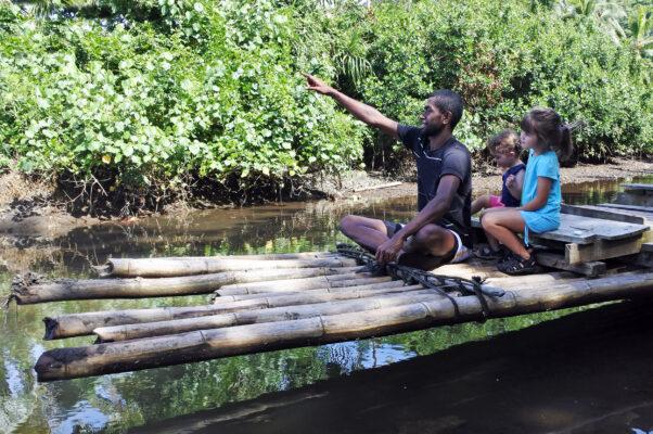 Fidschi Vaneua Levu Fluss