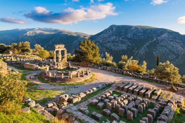 Griechenland Delphi Orakel
