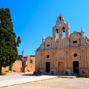Griechenland Kreta Arkadi Kloster