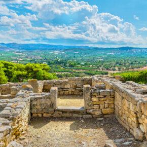 Griechenland Kreta Festos