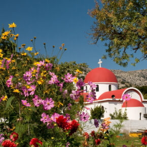 Griechenland Kreta Lassithi Plateau Marienkloster
