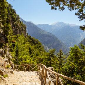 Griechenland Kreta Samaria Schlucht