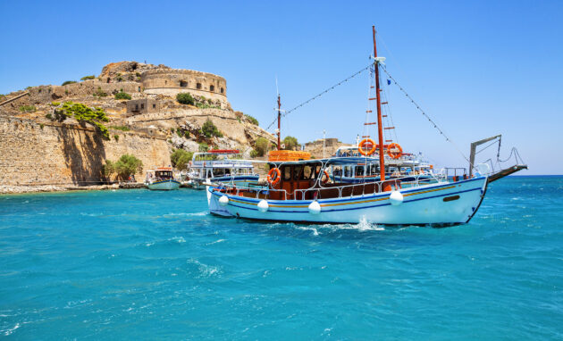 Griechenland Kreta Spinalonga Insel