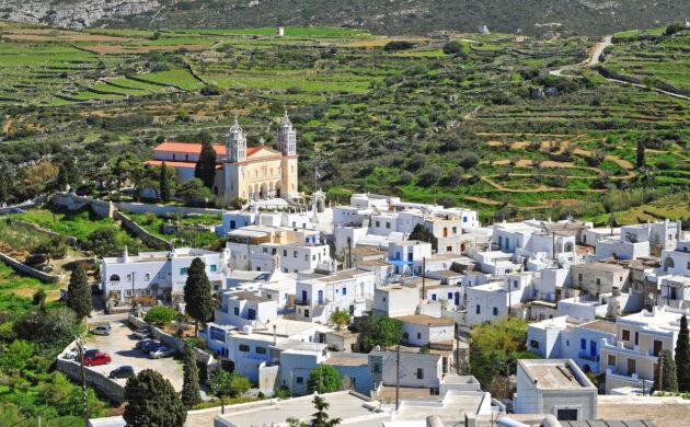Griechenland Paros Lefkes