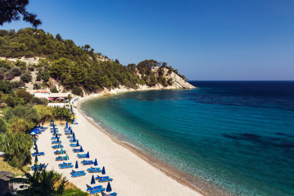 Griechenland Samos Lemonakia Beach