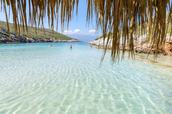 Griechenland Samos Livadaki Beach