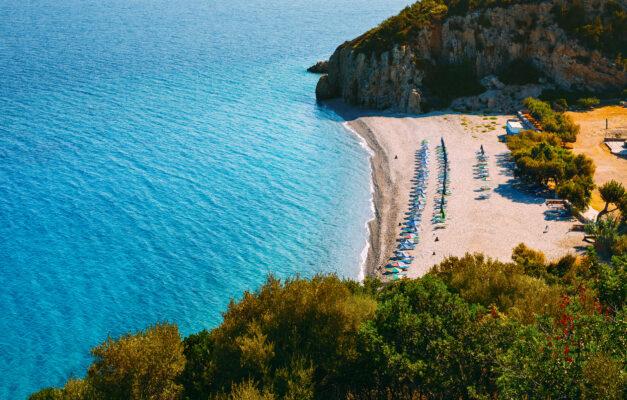 Griechenland Samos Tsabou Beach