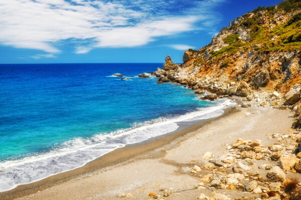 Griechenland Skiathos Kkastro Beach