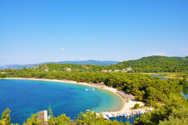 Griechenland Skiathos Koukounaries Beach