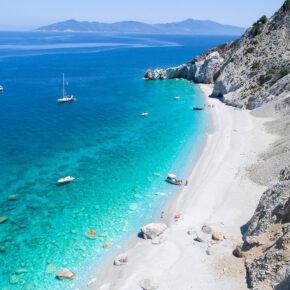 Griechenland Skiathos Lalaria Beach