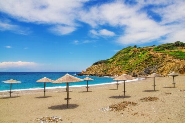 Griechenland Skiathos Xanemos Beach