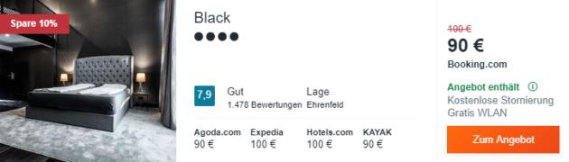 Köln Black Hotel