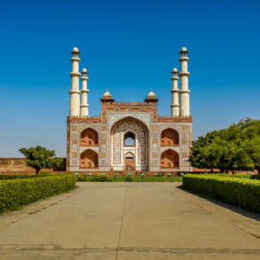 Indien Agra Akbar Mausoleum