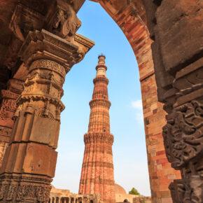 Indien Delhi Qutub Minar