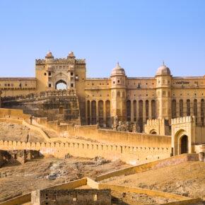 Indien Jaipur Amber Palace