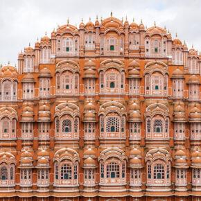 Indien Jaipur Hawa Mahal