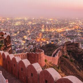 Indien Jaipur Nahargarh Fort
