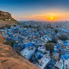 Indien Jodhpur Blue City