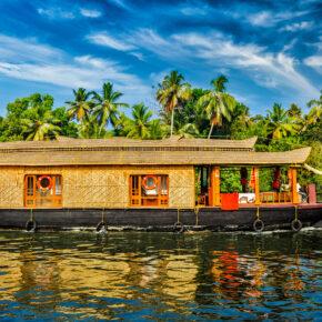 Indien Kerala Boot