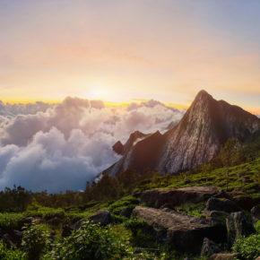 Indien Kerala Meesapulimala Peak