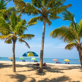 Indien Kerala Strand