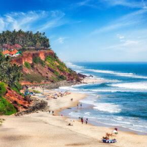 Indien Kerala Varkala Strand