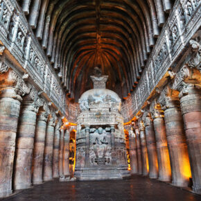 Indien Maharashtra Ajanta Cave