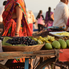 Indien Mumbai Markt