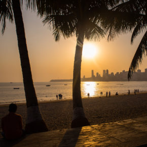 Indien Mumbai Strand