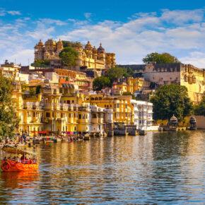 Indien Udaipur Pichola See