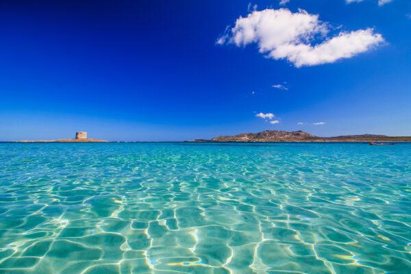 Italien Sardinien Blaues Wasser