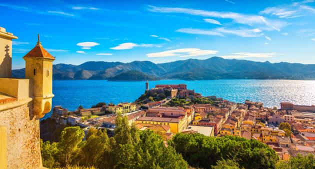 Italien Toskana Elba Island