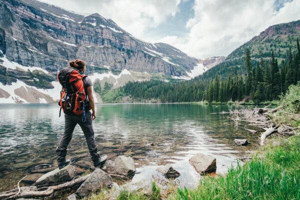 Kanada Backpacking See