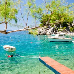 Kroatien im August: 6 Tage in Dalmatien im 4* AWARD Hotel mit All Inclusive nur 139€